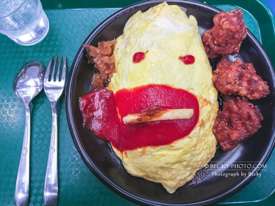 【北海道】。日本函館小丑漢堡店吃蛋包飯 @函館限定餐廳