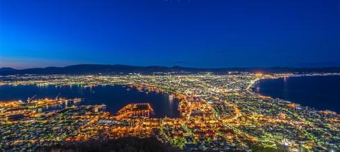 【北海道】。函館百萬夜景 函館山纜車 @北海道旅遊搭路面電車