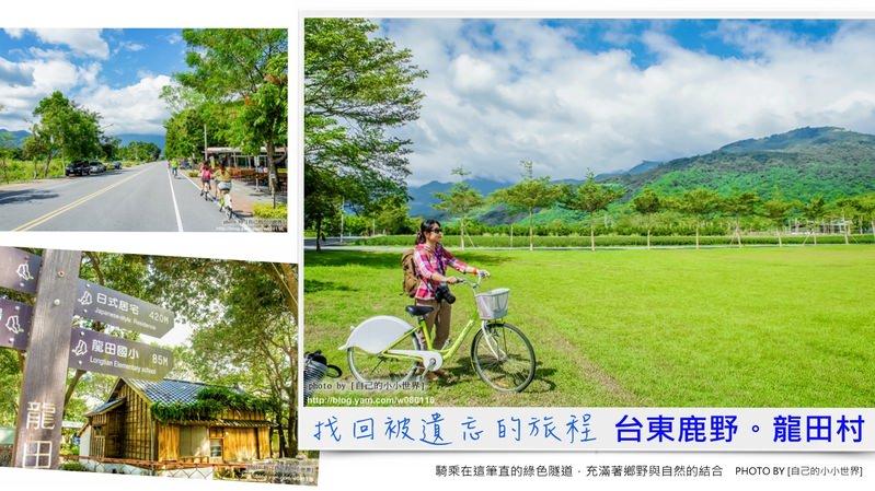 【台東】。找回遺忘的旅程~農村體驗好好玩。[鹿野鄉龍田社區]