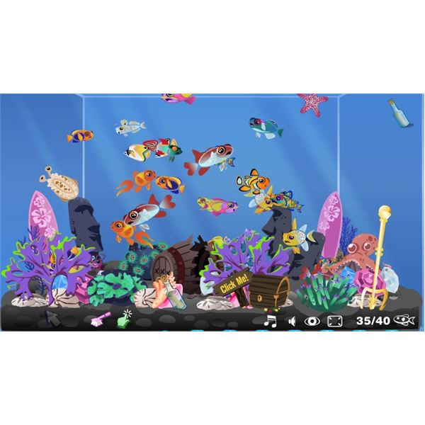 Shopper: Frenzy Fish Tank Management Game Virtual Exotic Fish in