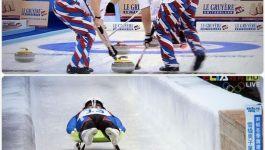 運動比賽–超像拖地的冰壺運動(Curling)與好可怕的無舵雪橇(Luge)