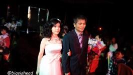 。喜喜來了。台南婚宴–懷舊鐵道風之第一次進場