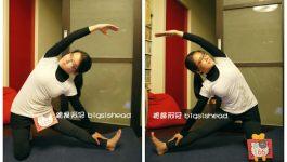 easyoga瑜伽/瑜珈馬拉松 3/29(五) Day 29–【門閂式/ Gate-Latch Pose】