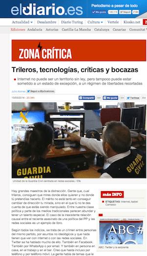 Julio Alonso en eldiario.es