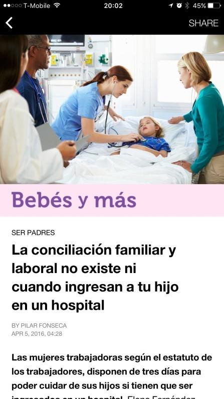 Bebés y más en Instant Articles