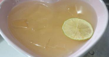 夏天也要清涼一夏的檸檬愛玉來上菜-懶人1分鐘洗愛玉法
