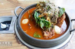 [韓國] 二代祖馬鈴薯排骨湯,弘大站24小時吃得到的熱呼呼美食