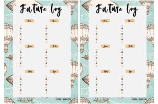 生活 | 半年打勾計畫,利用子彈筆記的Future log概念,打造半年規劃