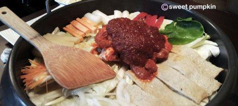 [美食] 紅通通韓味鍋物,誘人的微辣與起司好速配