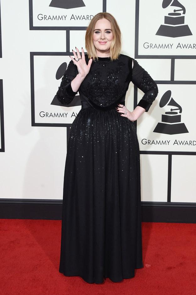 Adele en Givenchy.