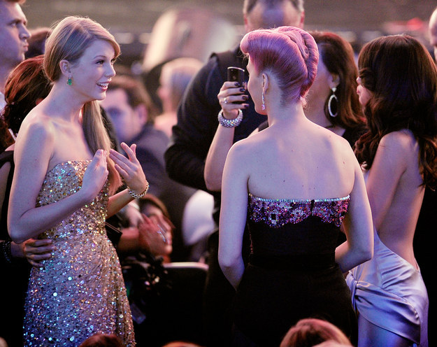 """There wasn't any """"Bad Blood"""" between Katy Perry and Taylor Swift."""