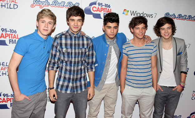 And honestly, this single picture of One Direction proves how far we've come since 2011.