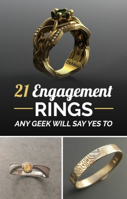 Mutable Share On Facebook Share Ridiculously Geeky Engagement Rings Cheap Nerdy Engagement Rings Nerdy Engagement Ring Boxes