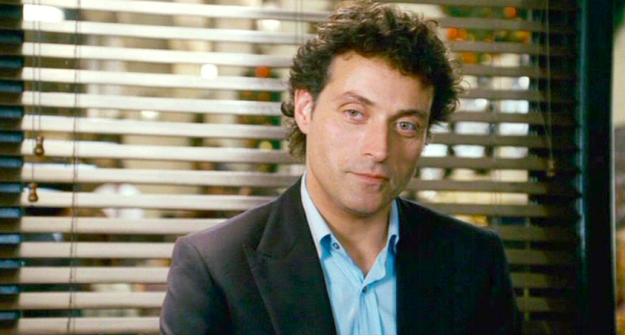 But you know who's not perfect? Jasper Bloom (Rufus Sewell), Iris's ex who she happens to still be in love with.