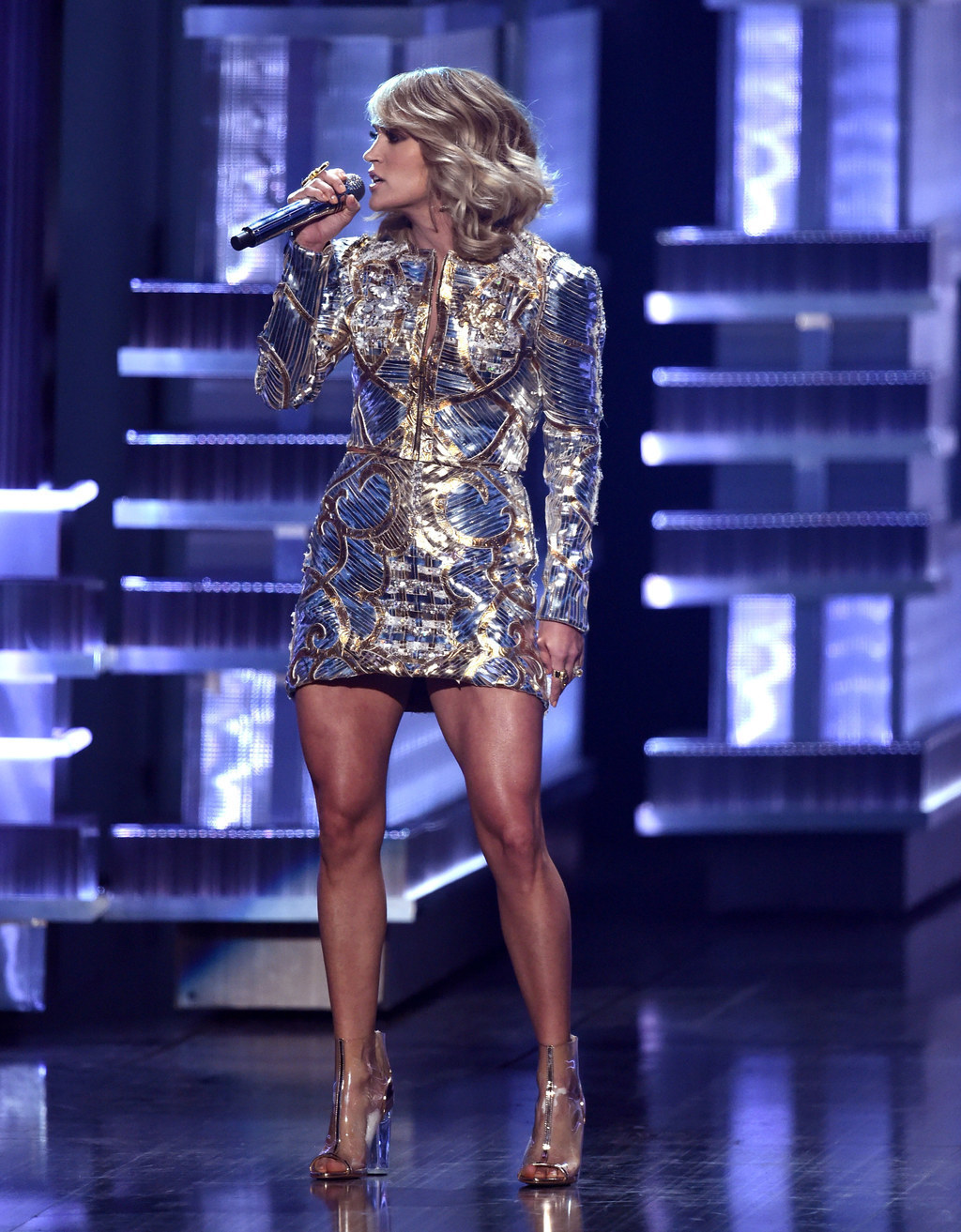 I Tried Carrie Underwood s Leg Workout And My Thighs Will Never Be     Ethan Miller   Getty Images