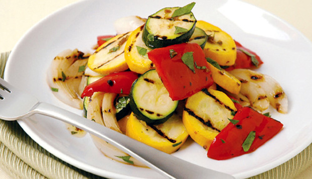 The vegan option at a wedding is ALWAYS grilled vegetables.