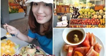 ▌台南中西美食 ▌莉莉水果店。傳承一甲子的好滋味。騎樓下大排長龍的水果冰