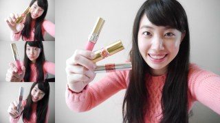 Review: YSL Lipstick/ Lip Gloss/ Tint-in-oil | YSL三款唇彩試色&心得分享