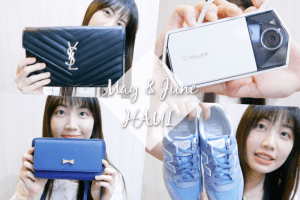 五、六月買什麼?!TR70、Saint Laurent、衣服鞋子etc.|Huge May & June Haul 2016