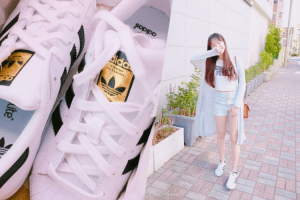 第四雙情侶鞋adidas Originals Superstar金標球鞋-12套穿搭&尺寸選擇|Our Fourth Couple Shoes-adidas Originals Superstar × 12 Outfits