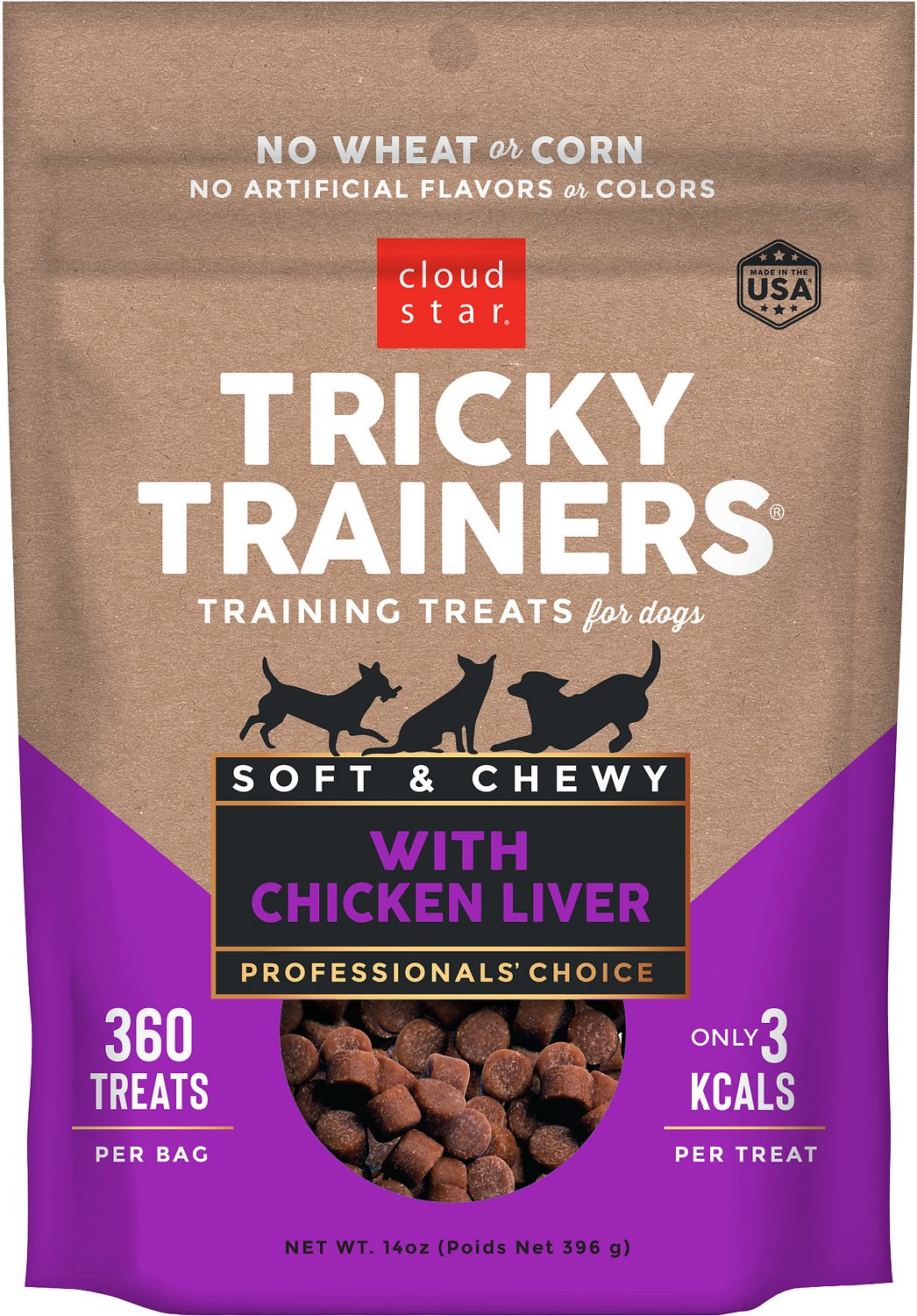 Dainty Cloud Star Chewy Tricky Trainers Liver Flavor Dog Bag Cloud Star Chewy Tricky Trainers Liver Flavor Dog Bag Dog Training Treats Uk Dog Training Treats Pets At Home bark post Dog Training Treats