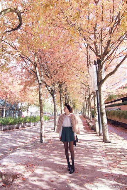 楓葉國溫哥華Vancouver x 電影場景的REENA穿搭