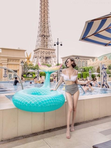 下水試穿8款泳裝報告巴黎人_Rachel's World 2018
