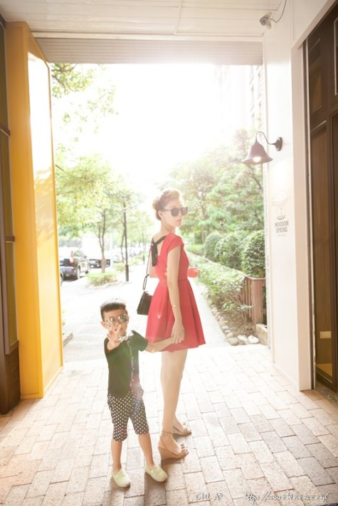 Moooon Spring Cafe & Play大直親子x是我的BON DOPO洋裝沒錯