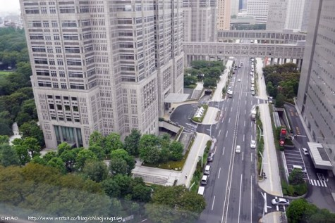 東京 像麻雀的新宿華盛頓飯店。新宿ワシントンホテル(本館)