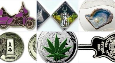 世界絕美25種硬幣