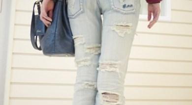 超美型破壞牛仔褲