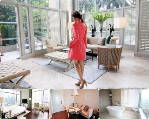 城市仙境_曼谷東方公寓Oriental Residence Bangkok