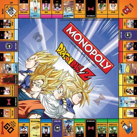 ¡Dragon Ball Z tendrá su propio Monopoly y aquí tenemos las primeras fotos!