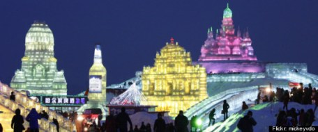 The Harbin International Ice and Snow Sculpture Festival 2012