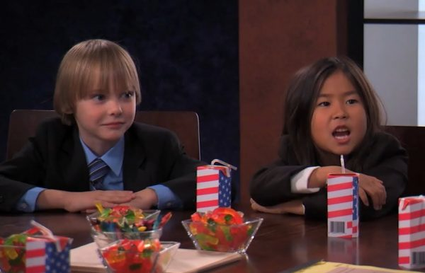 "Jimmy Kimmel Live Kids Table ""Kill Everyone in China"" segment."