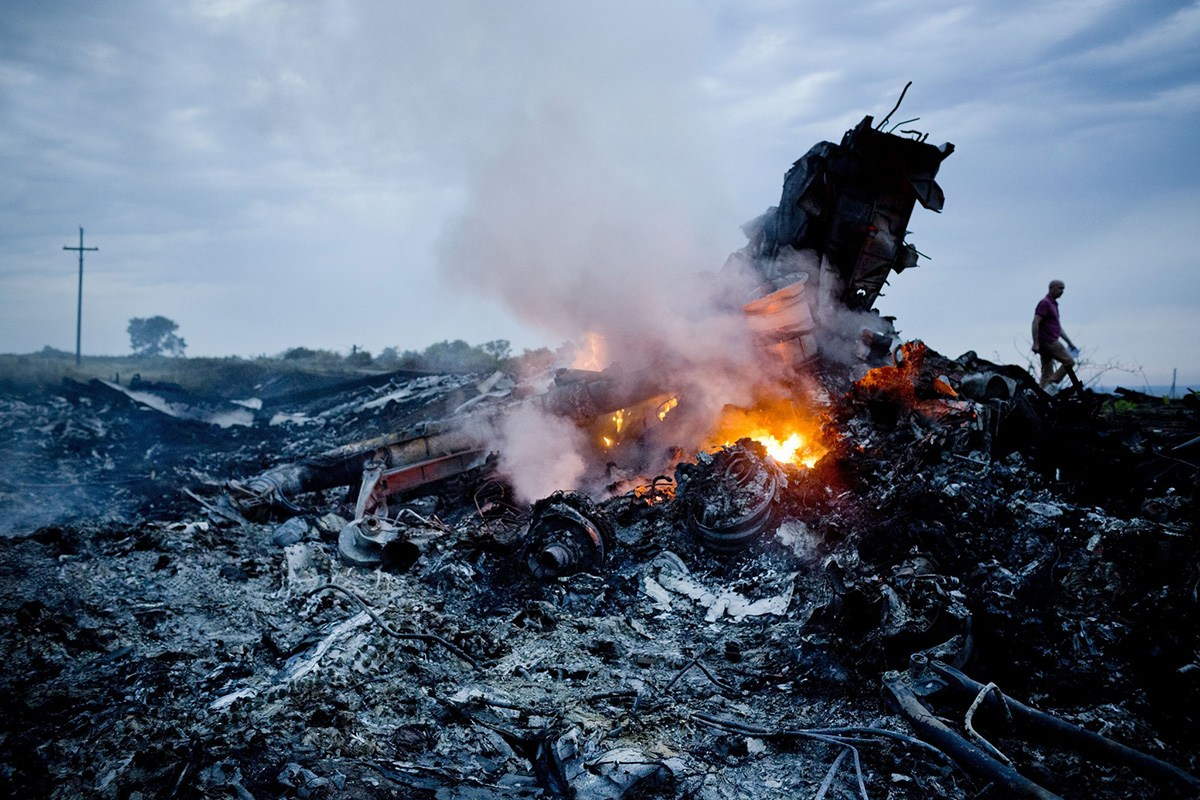 Malaysia Airlines Plane With 298 Passengers Shot Down Over Ukraine