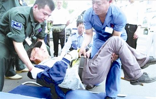 Unconscious man taken to bank to withdraw money for his treatment