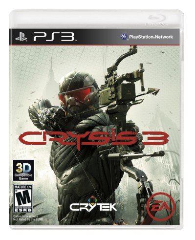 Crysis 3 Box Art: Prophet Armed With Box