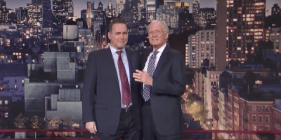 Watch David Letterman Get Interviewed By Norm Macdonald For A Change