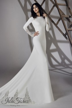 Small Of Long Sleeve Wedding Dresses