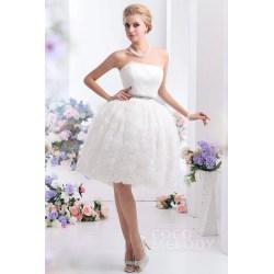 Small Crop Of Knee Length Wedding Dresses