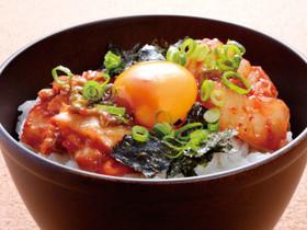 甘辛 キムチ卵かけご飯