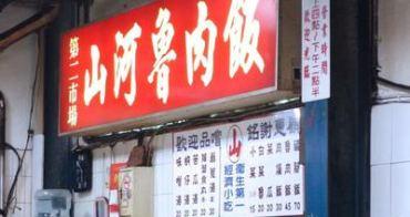 台中第二市場 山河魯肉飯 在地特色麻薏湯