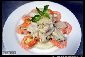 [西餐]沙拉類 海鮮沙拉附油醋汁