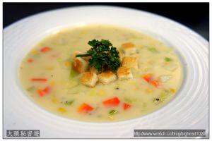 [西餐]湯類 奶油玉米濃湯