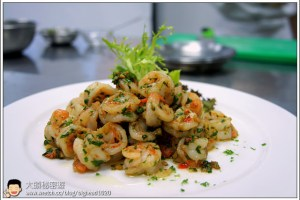 [西餐]蝦類 辣橄欖油蝦仁