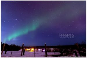 [阿拉斯加費爾班克斯 DAY5-2]北極圈(Arctic Circle)(下)、極光初現