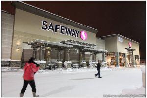 [阿拉斯加費爾班克斯 DAY1-4]Safeway、宵夜
