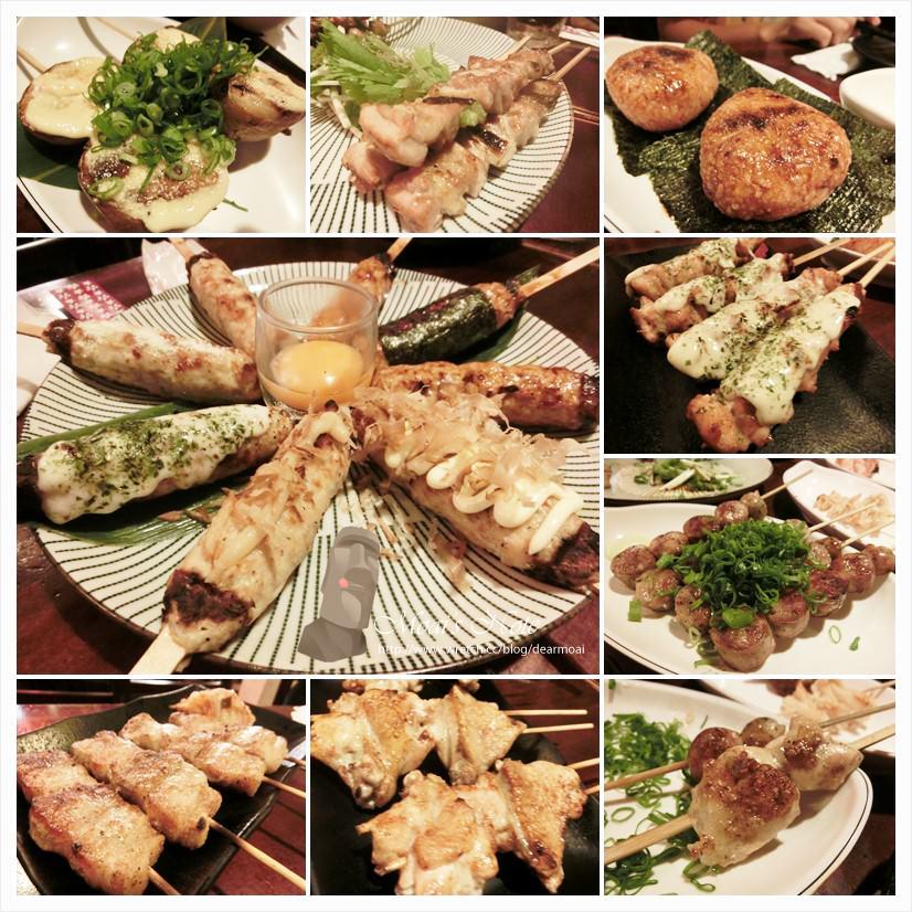 【台南一日遊】鯨吞燒串燒酒場~綜合雞肉串真真美味! | 摩艾