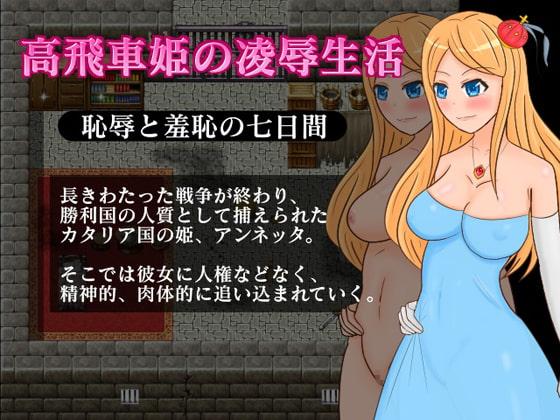 [さざめき通り] 高飛車姫の凌辱生活?恥辱と羞恥の七日間?